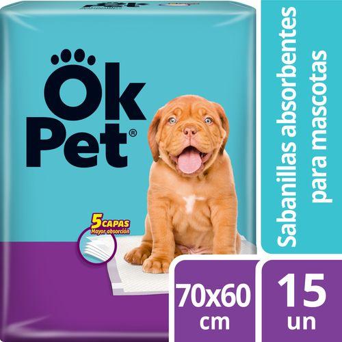 Sabanillas Para Mascotas Ok Pet 15 un
