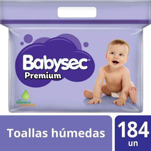 Toallas Húmedas Babysec Premium 184 un