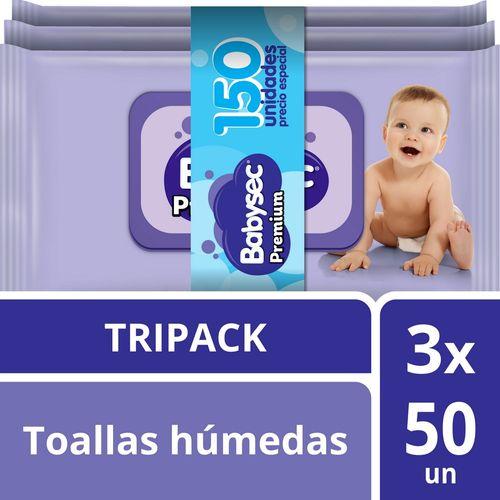 Toallas Húmedas Babysec Premium 150 un