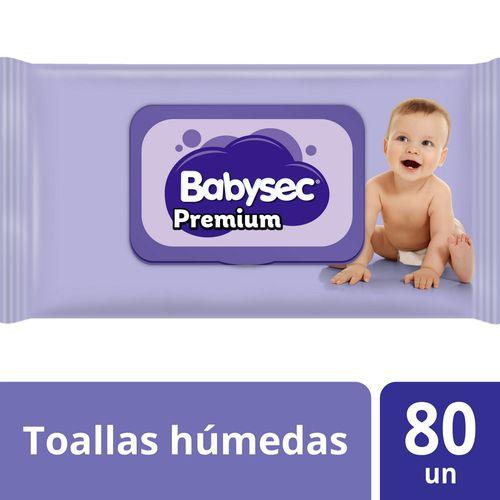 Toallas Húmedas Babysec Premium 80 un