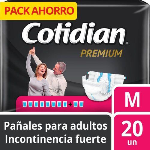 Pañal para adulto Cotidian Premium 20 un M