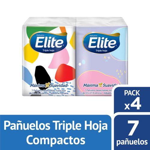 Pañuelos Desechables Elite Aloe Vera Compacto 4 un