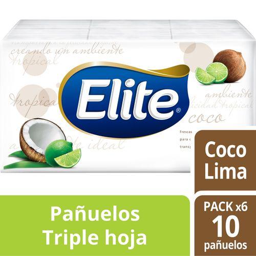 Pañuelos Desechables Elite Aromas 6 un