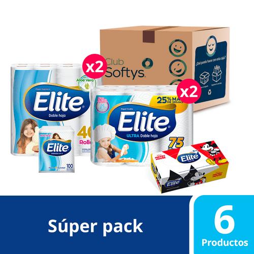 Súper pack Elite de 6 productos
