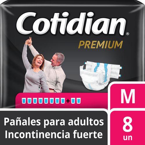 Pañal De Adulto Cotidian Premium 8 un M