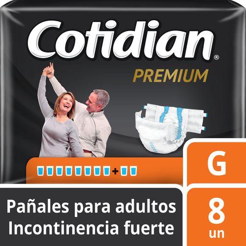 Pañal De Adulto Cotidian Premium 8 un G