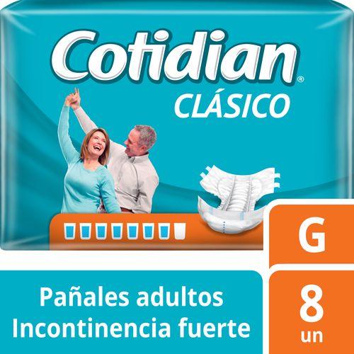 Pañal De Adulto Cotidian Clásico 8 un G