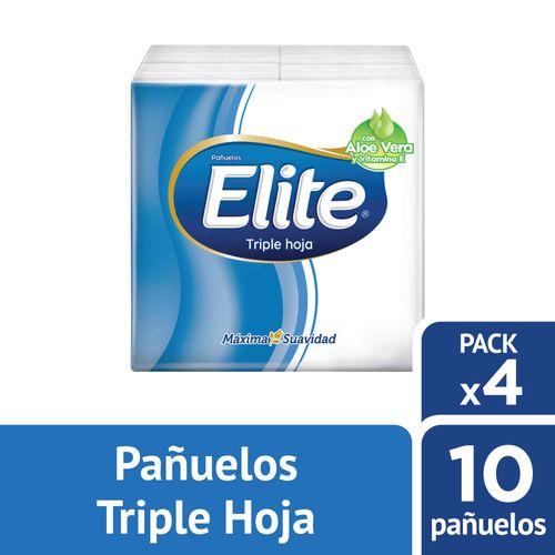 Pañuelos Desechables Elite Aloe Vera 4 un