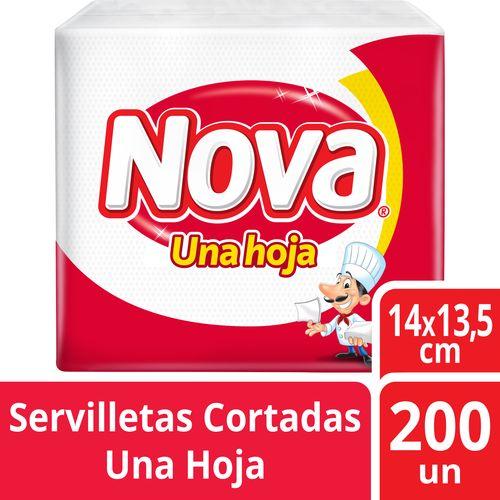 Servilleta Nova Cortada 200 un